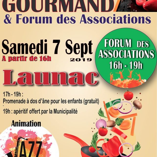 Marché Gourmand et Forum  des Associations