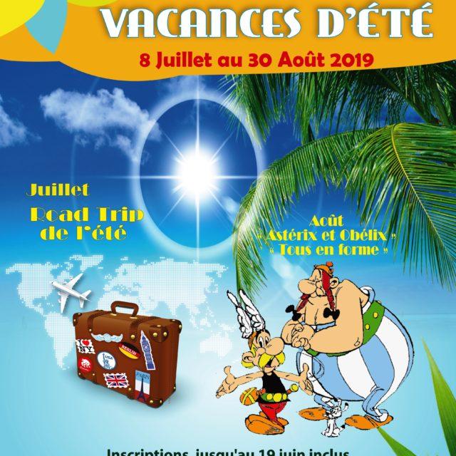 Vacances d'été au centre de loisirs