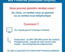 Accueil aux Finances publiques (impôts)