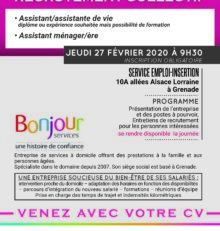 RECRUTEMENT COLLECTIF