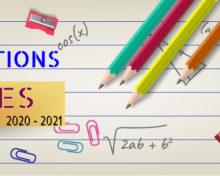 #INSCRIPTIONS ÉCOLES #2020/2021