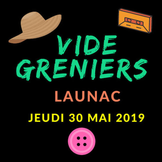 Vide-Greniers à le 30 Mai 2019