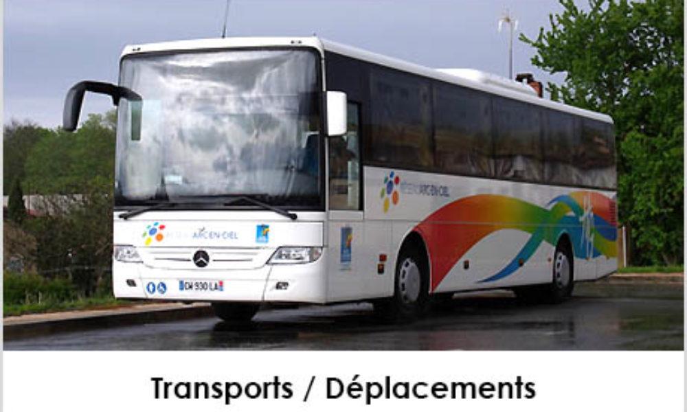 Visuel bouton transports déplacements Mairie de Launac