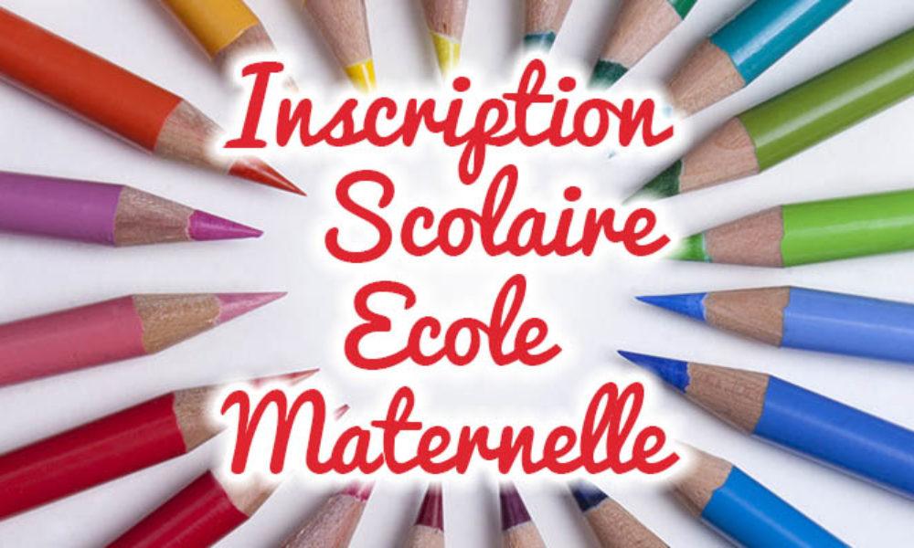 Visuel Inscription Scolaire école maternelle Mairie de Launac